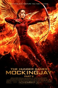 The Hunger Games: Mockingjay, Part 2 movie poster thumbnail link to detail view
