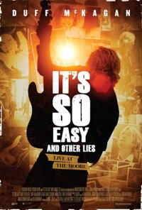 It's So Easy & Other Lies--Music Documentary movie poster thumbnail link to detail view