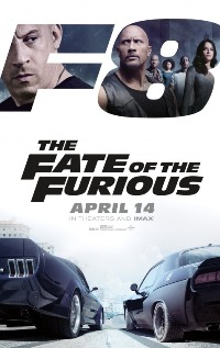 movie poster for The Fate of the Furious
