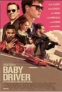 movie poster for Baby Driver