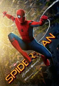 movie poster for Spider-Man: Homecoming DBOX
