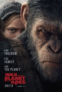 War for the Planet of the Apes movie poster thumbnail link to detail view