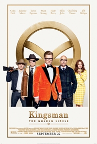 movie poster for Kingsman: The Golden Circle DBOX