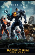 movie poster for Pacific Rim Uprising