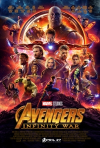 movie poster for Avengers: Infinity War