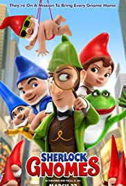 movie poster for Sherlock Gnomes