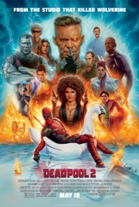 movie poster for Deadpool 2 DBOX