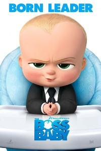 movie poster for The Boss Baby (Summer Series)