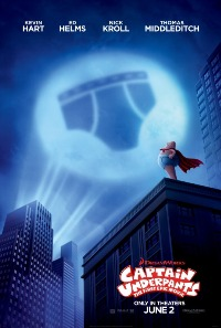 movie poster for Captain Underpants: The First Epic Movie (Summer Series)