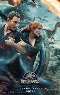 Jurassic World Fallen Kingdom movie poster thumbnail link to detail view