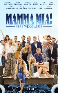 Mamma Mia! Here We Go Again movie poster thumbnail link to detail view