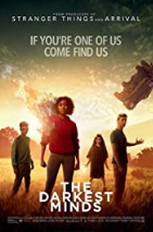 movie poster for The Darkest Minds