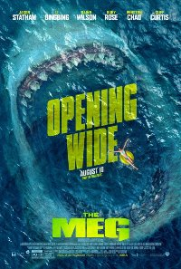 The Meg movie poster thumbnail link to detail view