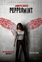 movie poster for Peppermint