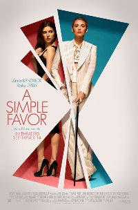 A Simple Favor movie poster thumbnail link to detail view