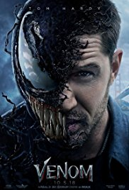 Venom movie poster thumbnail link to detail view
