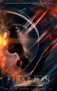 First Man movie poster thumbnail link to detail view